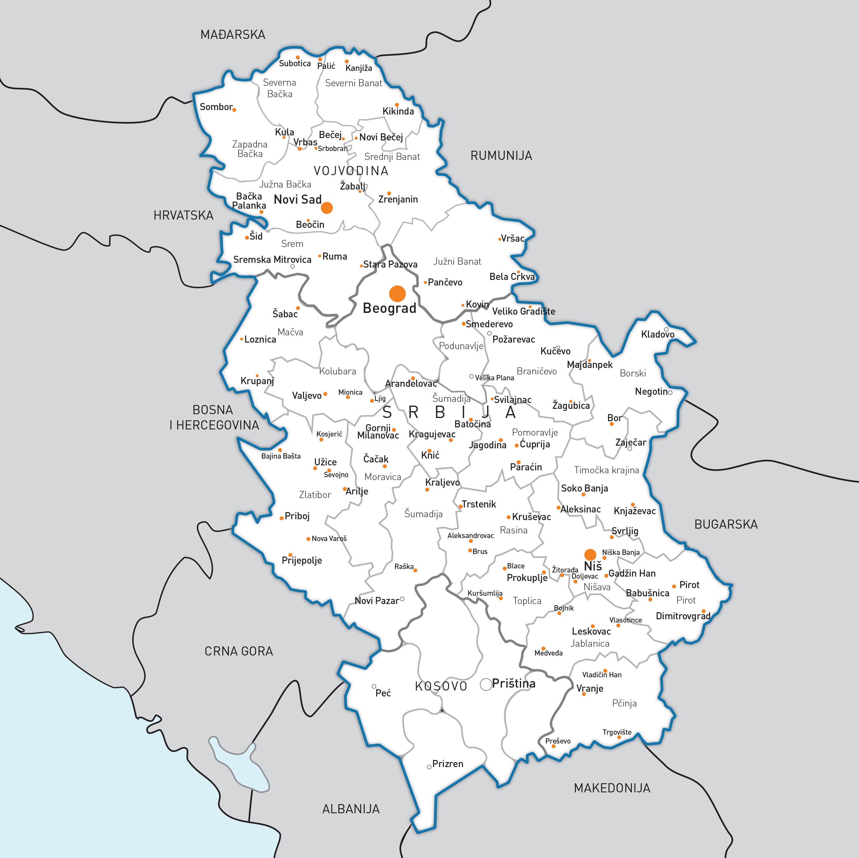mapa srbije ljig Pokreni se za posao   Mapa preduzetnika mapa srbije ljig